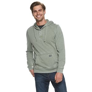 Men's Heritage Hooded Burnout Terry Sweatshirt