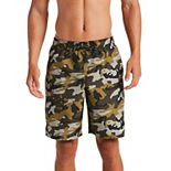 Big & Tall Nike Camo Vital Stretch-Waistband Volley Shorts