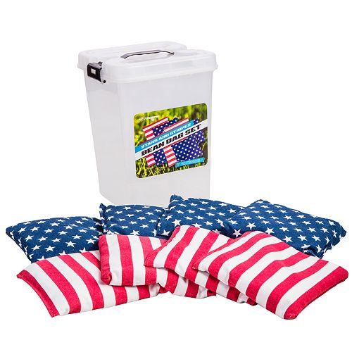 Triumph Sports Patriotic Bean Bag Set