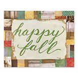 Artissimo Happy Fall Canvas Wall Decor