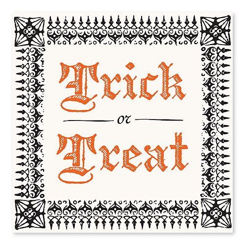 Artissimo Trick Or Treat Canvas Wall Decor