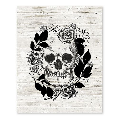 Artissimo Something Wicked Canvas Wall Decor