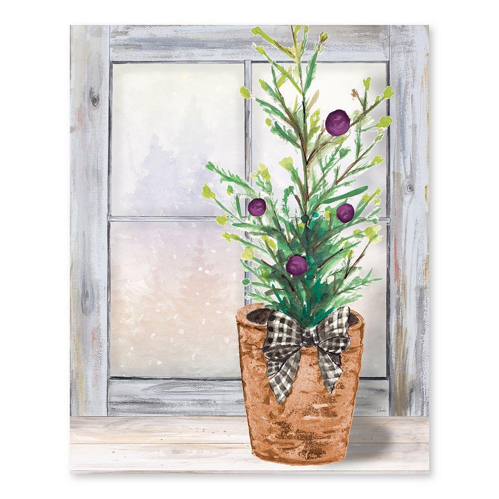 Artissimo Seasons Greetings Canvas Wall Decor