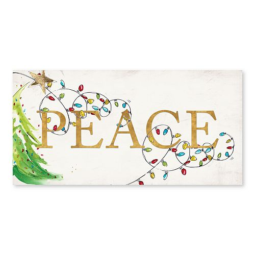 Artissimo Peace Canvas Wall Decor