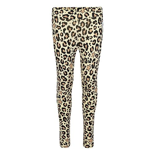 Girls 7-16 Converse Leopard Graphic Stretch Jersey Leggings