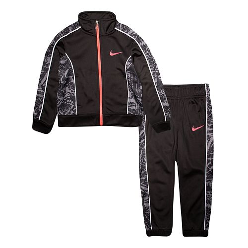 Toddler Girl Nike Zip Jacket & Jogger Pants Track Set