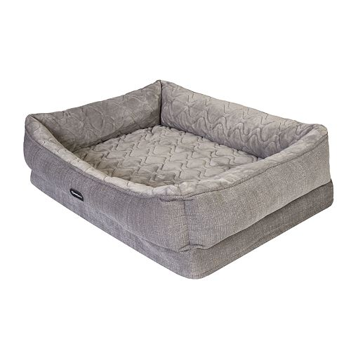 Beautyrest Ultra Plush Quilted Cuddler Pet Bed