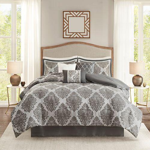 Madison Park Filmore 7-Piece Jacquard Comforter Set