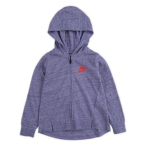 Toddler Girl Nike Drapey Full Zip Hoodie