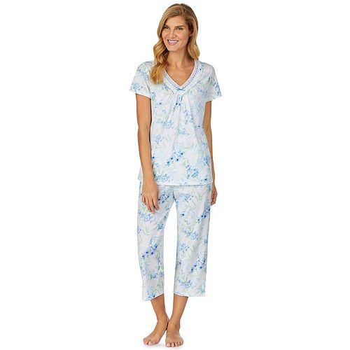 Women's Aria Sleep Shirt & Sleep Capri Set