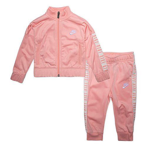 Toddler Girl Nike Zip Jacket & Jogger Pants Track Set
