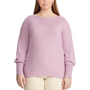 Women's Plus Size Chaps Sweater