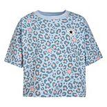 Girls' 7-16 Converse Chuck Patch Leopard Print Boxy T-Shirt