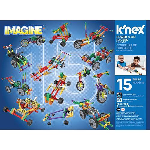 K'NEX Power & Go Racers Building Set