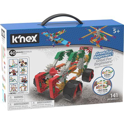 K'NEX Beginner 40 Model Set