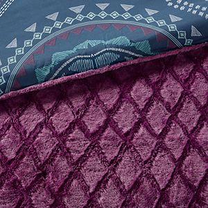 Intelligent Design Faux Fur Blair Reversible Comforter Set