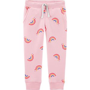 Toddler Girl OshKosh B'gosh® Logo Fleece Pants
