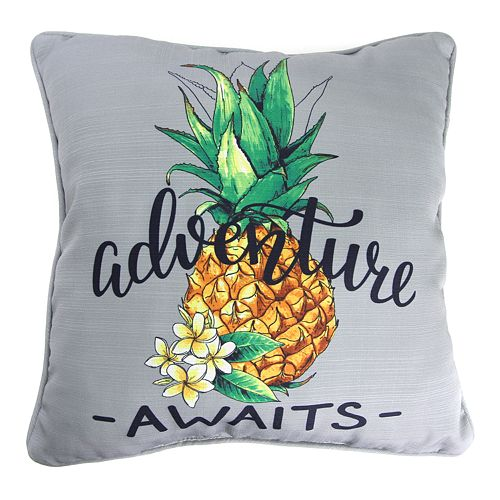Jordan Manufacturing Printed Adventure Decorative Throw Pillow