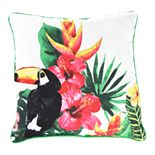 Jordan Manufacturing Printed Toucan Decorative Throw Pillow