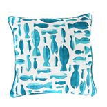 Jordan Manufacturing Printed Fish Decorative Throw Pillow
