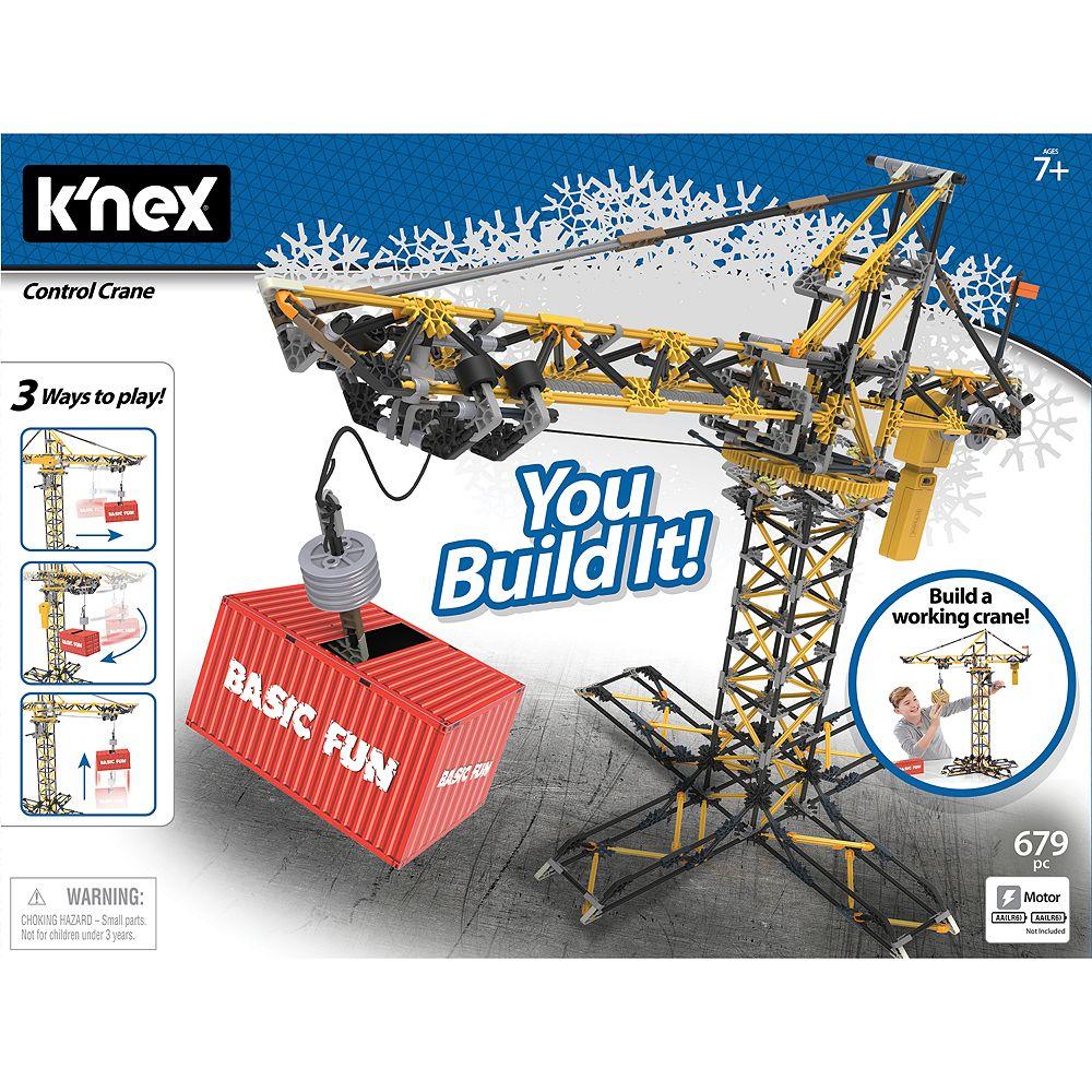 K'NEX Controlled Crane Building Set