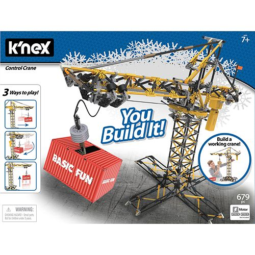 K'NEX Controlled Crane Building Set