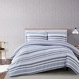 Truly Soft Multi Stripe 3-piece Comforter Set