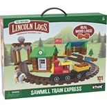 Lincoln Logs Sawmill Train Express