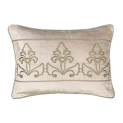 Beautyrest Sandrine Embroidered Throw Pillow