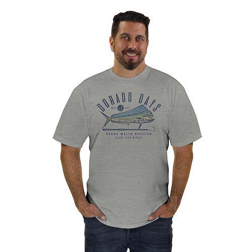 Men's Newport Blue Dorado Days Graphic Tee