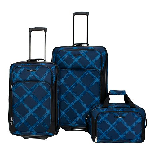 iPack Retreat 3-Piece Wheeled Luggage Set