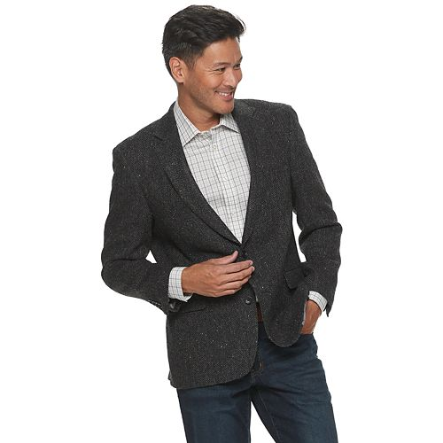 Men's Jean-Paul Germain Wool Irish Tweed Sport Coat