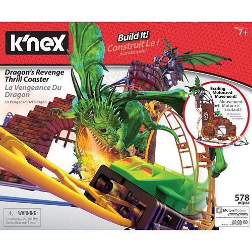 K'NEX Dragon Quest Roller Coaster Building Set
