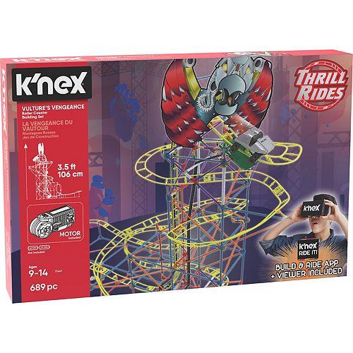 K'NEX Vultures Vengeance Coaster Building Set