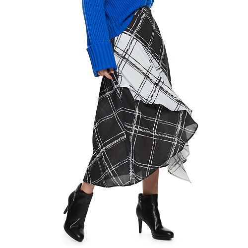 Women's Nine West Ruffle Skirt