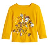 Baby Boy Jumping Beans® Woody Riding Toy Story Long-Sleeve Tee