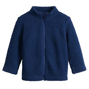 Baby Boy Jumping Beans® Full-Zip Sherpa Jacket