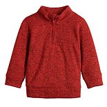 Baby Boy Jumping Beans® 1/2 Zip Fleece Pullover Sweater
