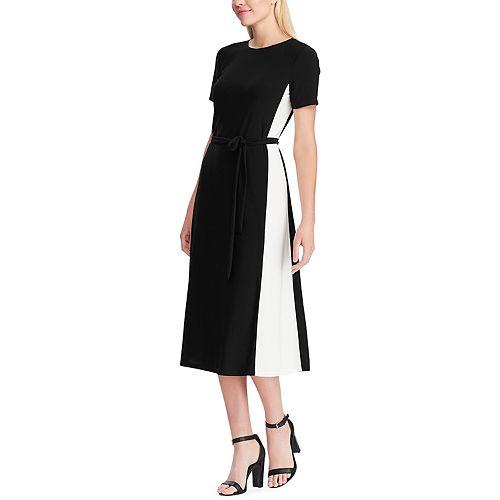 Women's Chaps Colorblock Midi Dress