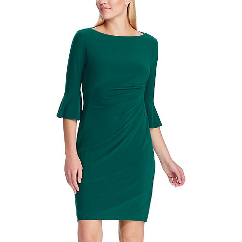 Women's Chaps 3/4 Bell Sleeve Dress