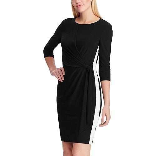 Women's Chaps Elbow Sleeve Sheath Dress