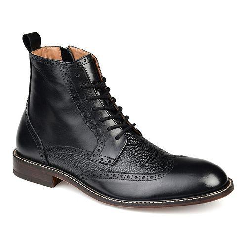 Thomas & Vine Legend Men's Wingtip Ankle Boots
