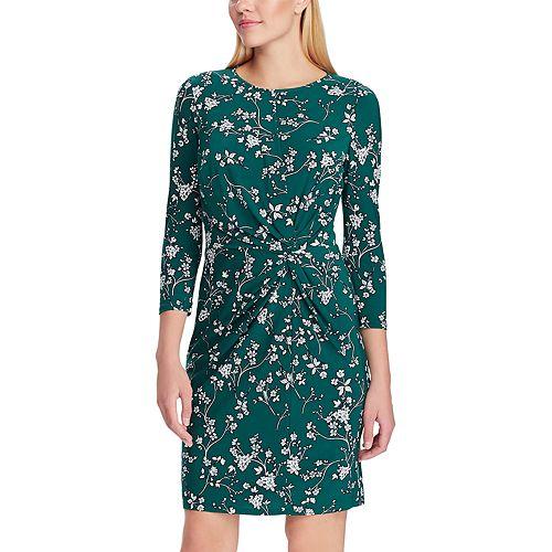 Women's Chaps Elbow Sleeve Floral Sheath Dress
