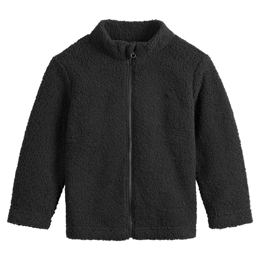 Toddler Boy Jumping Beans® Full-Zip Sherpa Jacket