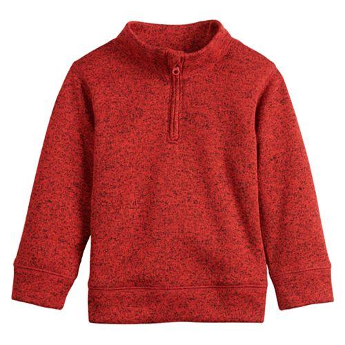 Toddler Boy Jumping Beans® Sweaterfleece Quarter Zip Pullover