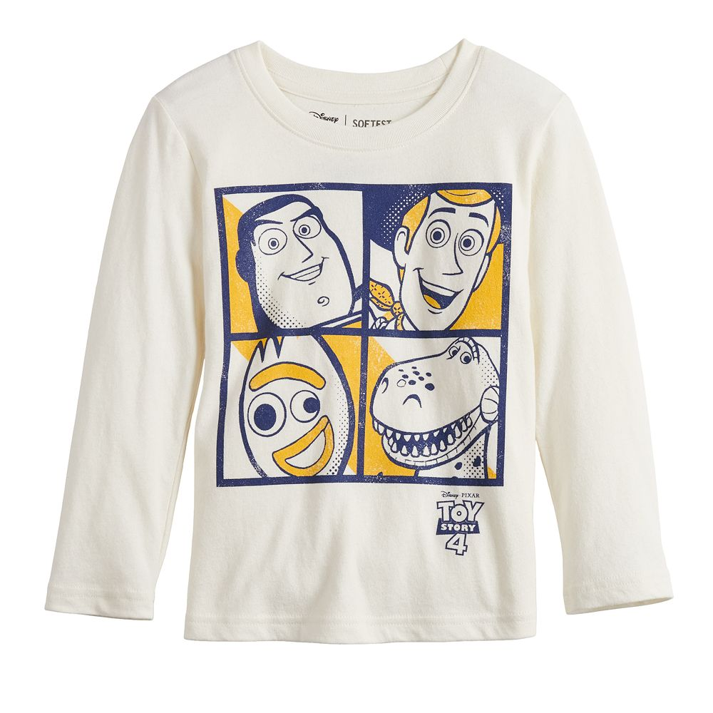 Disney's Toy Story Four Square Toddler Boy Long-Sleeve Tee by Jumping Beans®
