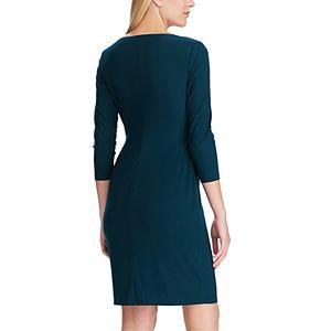 Women's Chaps Side Ruffle Dress