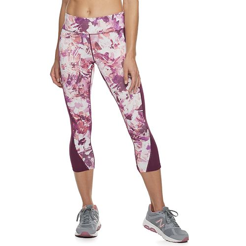 Women's Tek Gear® Mid-Rise Performance Capri Leggings