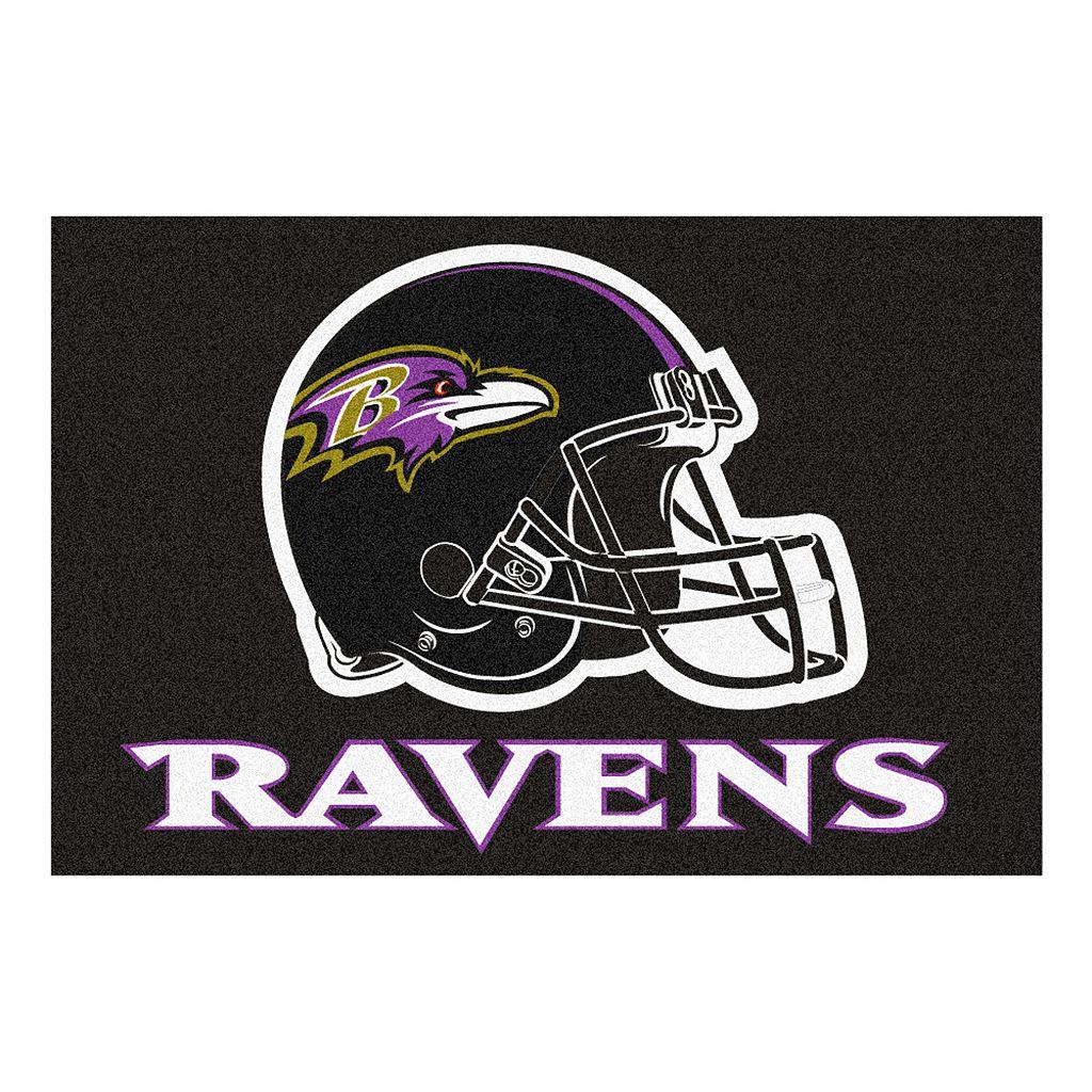 Fanmats® Baltimore Ravens Starter Rug