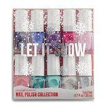 Simple Pleasures Let It Snow 10-Piece Nail Polish Set